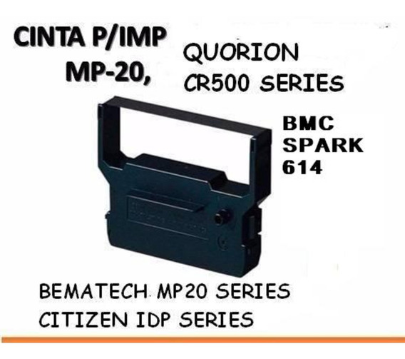 Cinta Dp-600 Citizen/quorion/bematech Mp20 /bmc Compatible