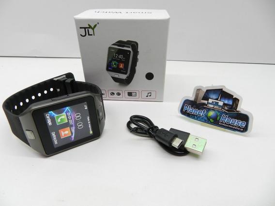 Relógio De Pulso Smart Watch Aceita Chip E Cartão