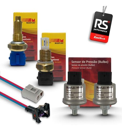 Kit Sensores Marflex P/ Ft250 Ft300 Ft350 Ft400 Ft500 Ft600