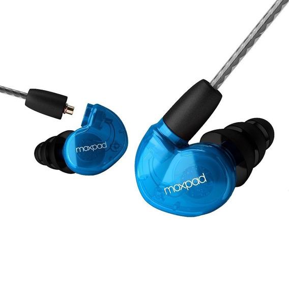 Fone Moxpad X6 In Ear Profissional Esporte Monitor Palco