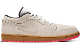 Jordan 1 Low White Gum Hyper Pink