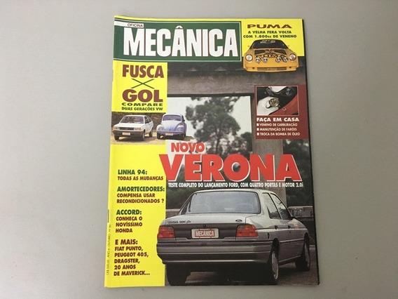 Revista Oficina Mecânica N.o 86 - Outubro 1993