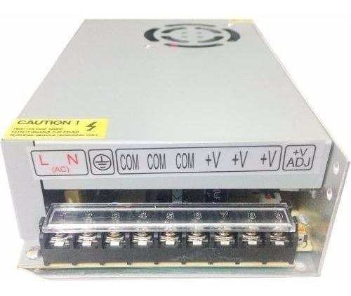 Fonte 20 Ampere Chaveada C/cooler 12 Volt 240 Watts Bi-volt