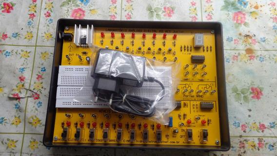 Kit Didático De Eletrônica Digital Kd 08 Es Jr