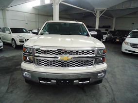 Chevrolet Cheyenne Ltz Crew Cab 4x4 Blanca 2015