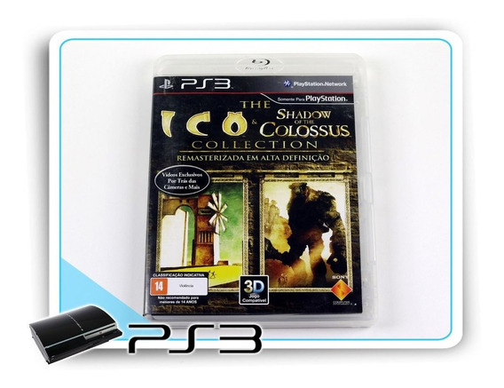 The Ico & Shadow Of The Colossus Original Playstation 3 Ps3