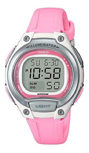 Relógio Casio Feminino Digital Illuminator Lw-203 4av Rosa