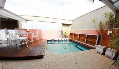 Cobertura Com 3 Dormitórios À Venda, 150 M² Por R$ 990.000 - Cambuí - Campinas/sp - Co0311