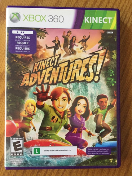 Kinect Adventures Xbox 360 Original Mídia Física