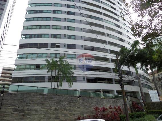 Apartamento Com 4 Quartos- 200 M² Por R$ 7.000/mês Com Taxas Inclusas- Torre - Ap0712