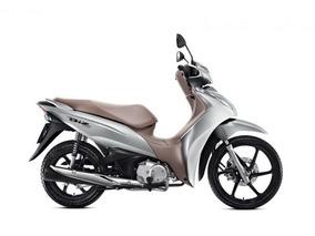 Honda Biz 125 2019 Prata Flex