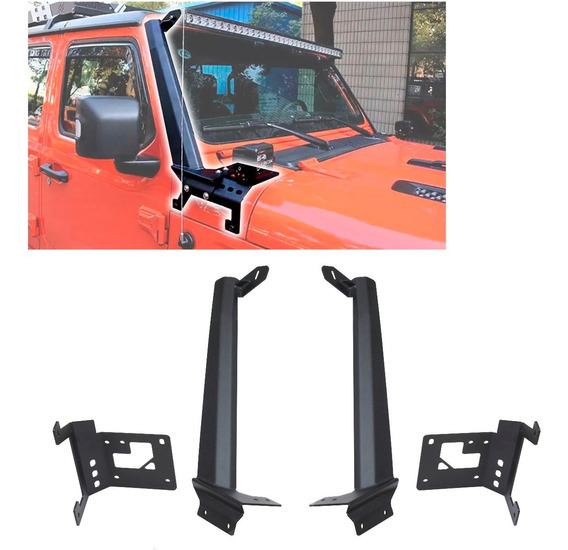 Bracket Soporte Barra Led Jeep Jl Wrangler Rubicon Sahara