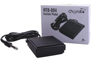 Pedal Sustain Cherub Wtb 004 Para Teclado Organeta Universal