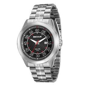 Relógio Masculino Analógico Seculus 20337g0svna1 Cromado
