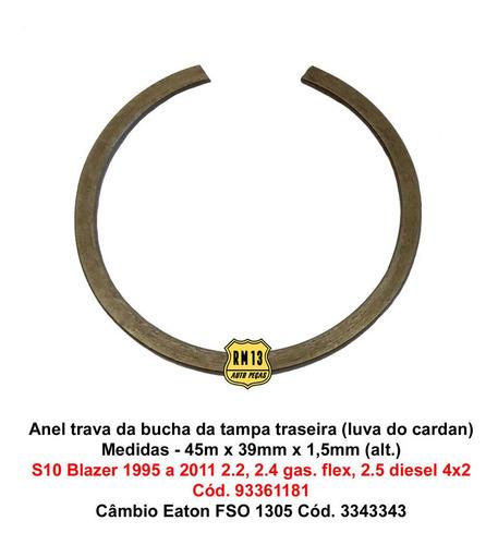 Imagem 1 de 5 de Trava Anel Bucha Tampa Traseiro S10 Blazer Ac20 F1000