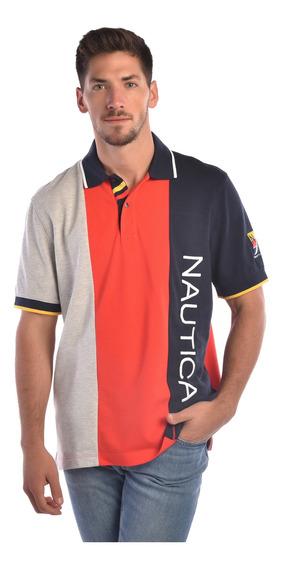 Playera Hombre Roja Nautica K82930