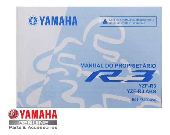 Manual Proprietário Yzf R3 Yamaha