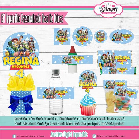 Kit Imprimible Mesa De Dulces Toy Story 4
