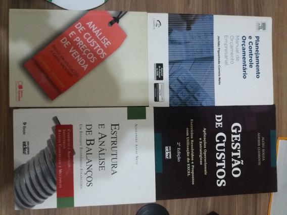 Livros Finanças E Planejamento Empresarial - 4 Livros