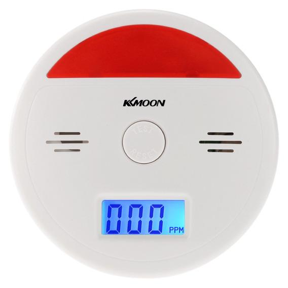 Gás De Fumo Envenenamento Do Sensor Alarme Monóxido Carbono