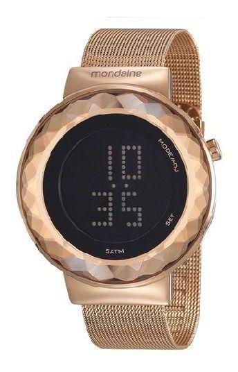 Relógio Mondaine Feminino Led 32006lpmvre2 1 Ano Garantia
