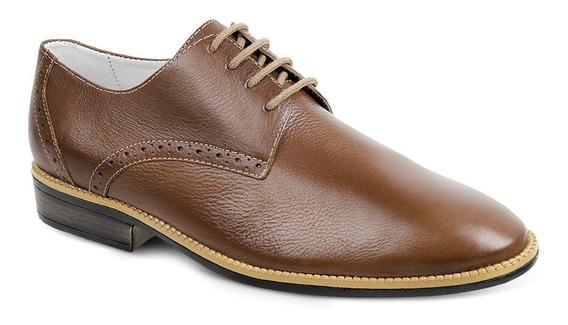 Sapato Social Masculino Oxford Sandro Moscoloni Louis Marrom