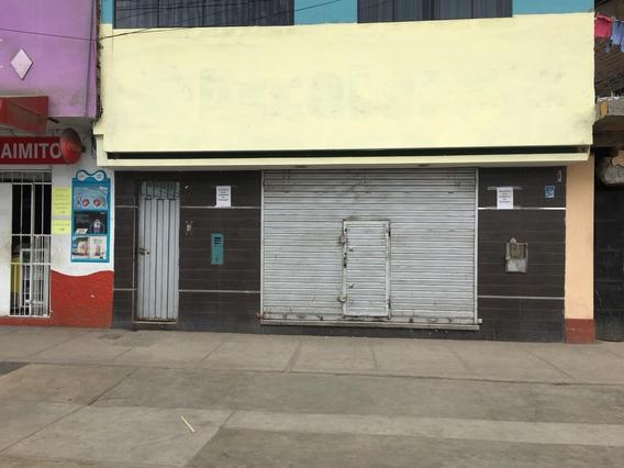 Local En Alquiler. Cuadra 13 Av Peru. S.m.p