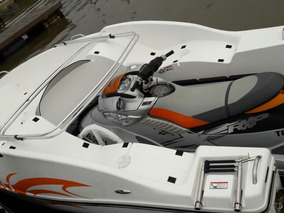 Bote Combinado Moto De Agua Sj Boat Lancha Gomon Inflable