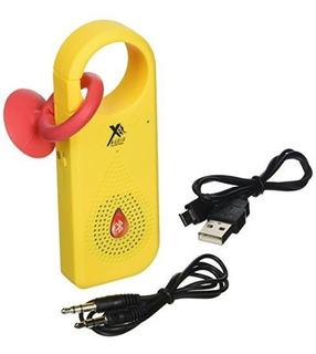 Xit Axtcxbl Altavoz Bluetooth Clip X Amarillo Neon