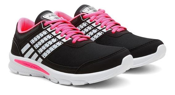 Tênis Caminhada Feminino Confortável Leve Macio Esporte