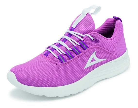 Tenis Pirma Modelo 0248 Deportivo Para Dama Color Rosa.