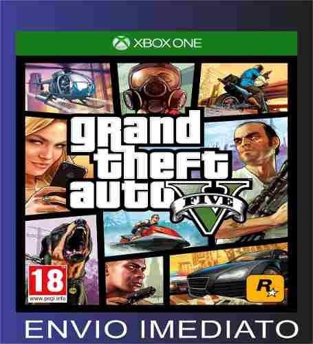 Gta 5 Grand Theft Auto Xbox One - Midia Digital