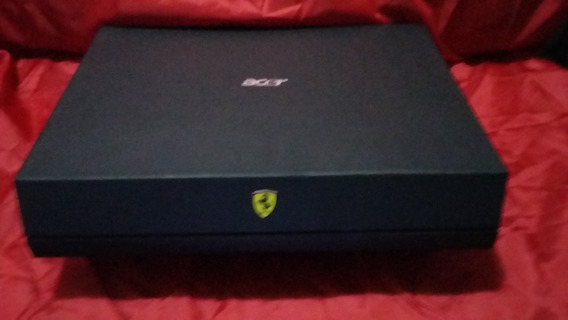 Notebook/gamer - Acer Ferrari 1100 - Defeito