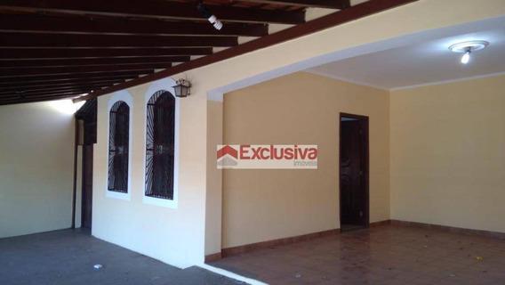 Casa Com 3 Dormitórios Para Alugar, 165 M² Por R$ 2.350,00/mês - Jardim Dos Calegaris - Paulínia/sp - Ca1539