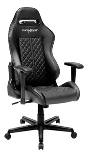 Silla Gamer Dx-racer Racing Series Negra Butaca Pc Sillon