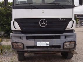 Mercedes-benz Axor 3344 Com Cacamba Meia Cana