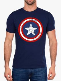 Camisetas Super Heróis Homem De Ferro Venom Capitão América