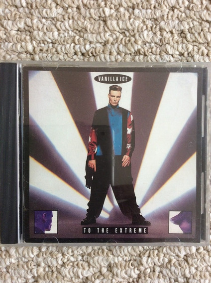 Vanilla Ice - To The Extreme Cd Usa Ice Ice Baby Funky Music