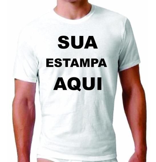 10 Camisetas Personalizadas Masculina, Feminina E Infantil.