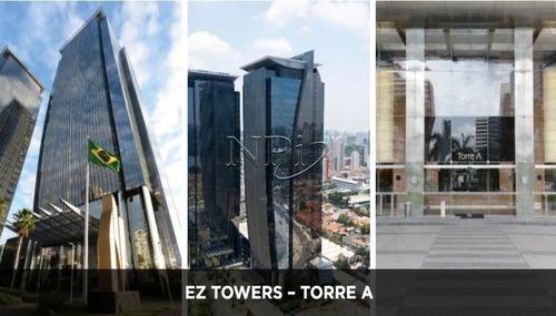 Ez Towers  Lajes E Salas Comerciais Na Berrini  Npi Imoveis - L-4976