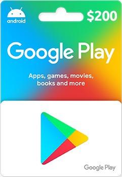 Imagen 1 de 2 de Tarjeta De Regalo Google Play $200