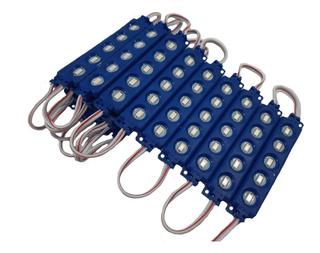 Modulo De Led Tipo Encapsulado 5050 Azul (20 Pzas.)