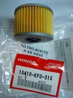 Pack X10 Filtro Aceite Original Honda Tornado-twister-falcon