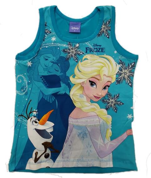 Blusinha Brandili Frozen Elsa E Olaf - 32670 - Tam. 4 À 10