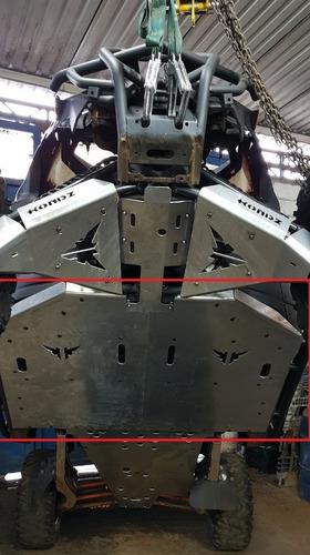 Imagem 1 de 4 de Peça Central Skid Plate Compatível C/ Maverick X3 5mm/
