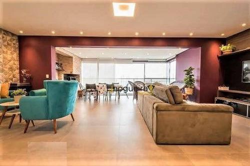 Apartamento Com 3 Dormitórios, 117 M² - Venda Por R$ 1.170.000,00 Ou Aluguel Por R$ 6.000,00/mês - Granja Julieta - São Paulo/sp - Ap15591