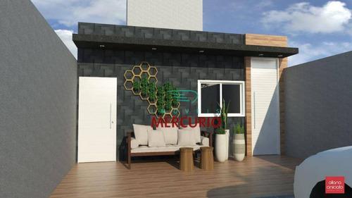 Casa À Venda, 60 M² Por R$ 200.000,00 - Tangarás - Bauru/sp - Ca2816