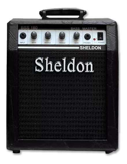 Amplificador Combo Para Contrabaixo Sheldon Bss-180 Oferta!