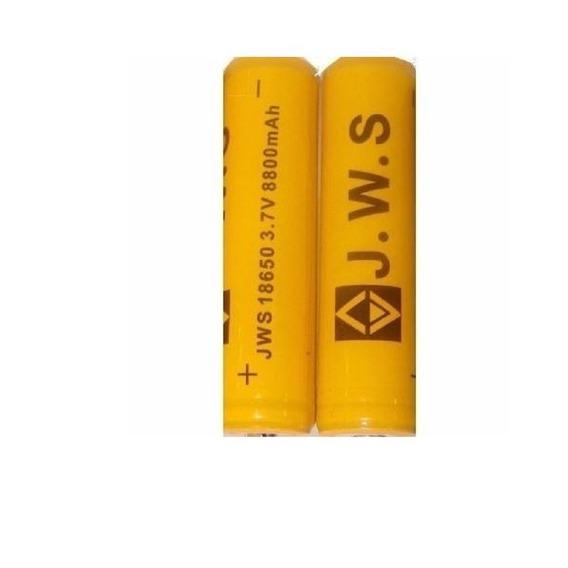 Bateria 18650 Li Ion Gold 8800mah Jws Top Chip Lançamento