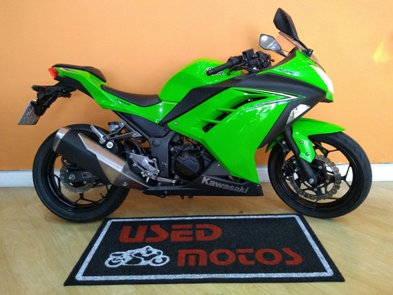 Kawasaki Ninja 300 2018 Verde